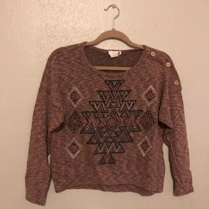 Casual and comfortable pullover!